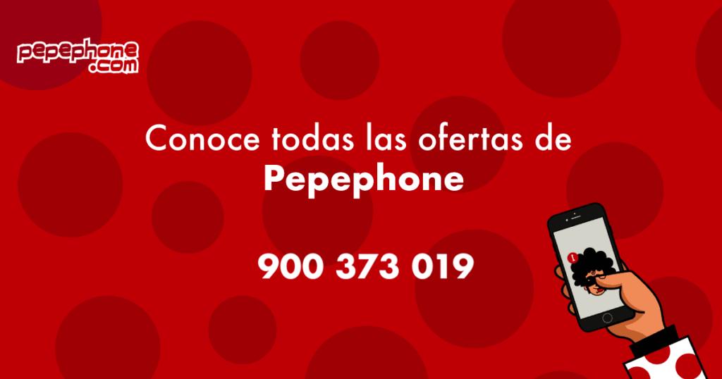 Contacto teléfono Pepephone