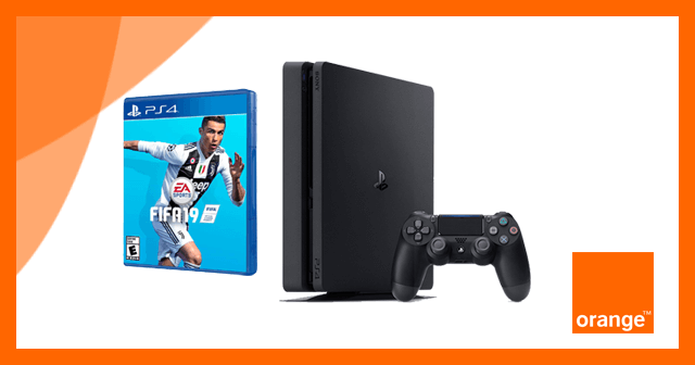 Comprar PS4 + Fifa19 con Orange