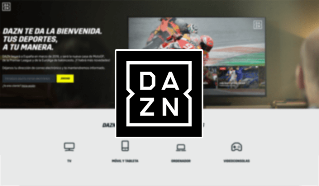 DAZN plataforma de video y deportes