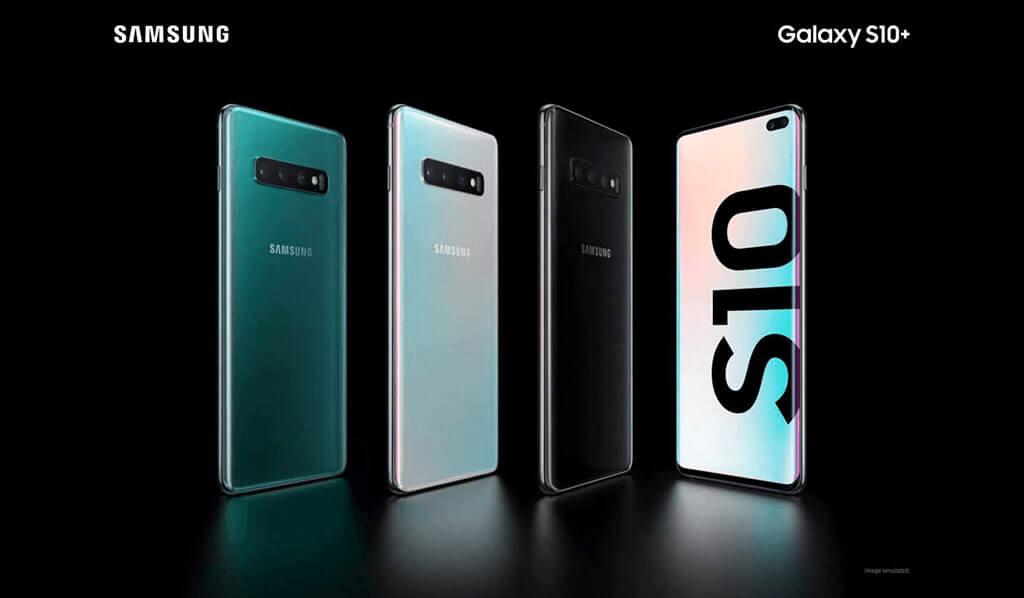 Samsung Galaxy S10 con Jazztel