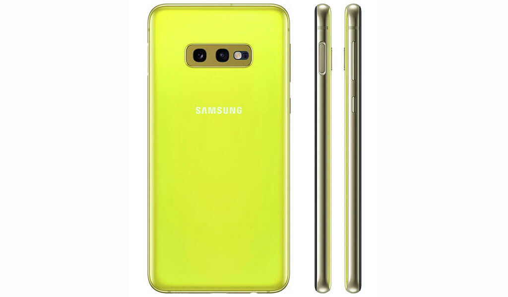 Samsung Galaxy S10E en Orange