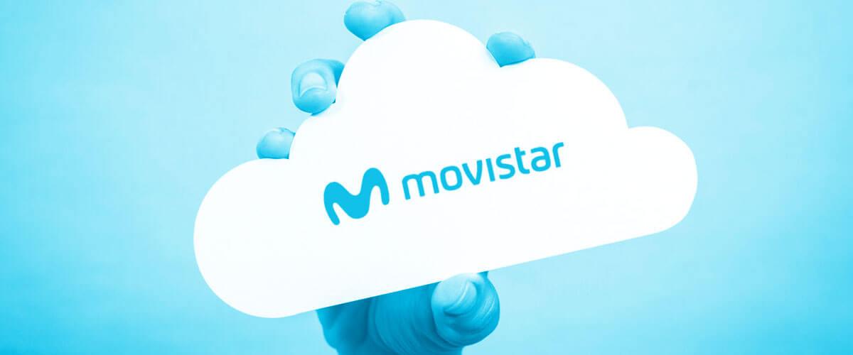 Guardar archivos como un tesoro es posible con Movistar Cloud