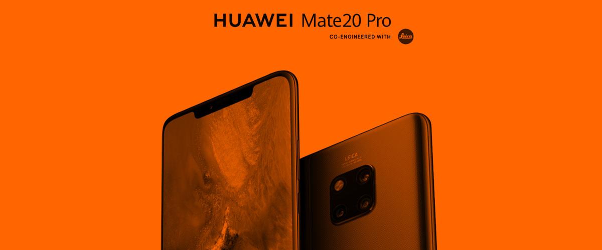Comprar el Huawei Mate 20 Pro con Orange, ¿es posible?