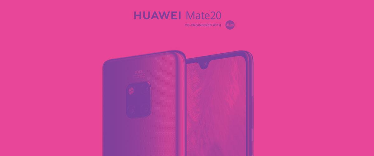 ¿Quieres comprar el Huawei Mate 20 en Yoigo?
