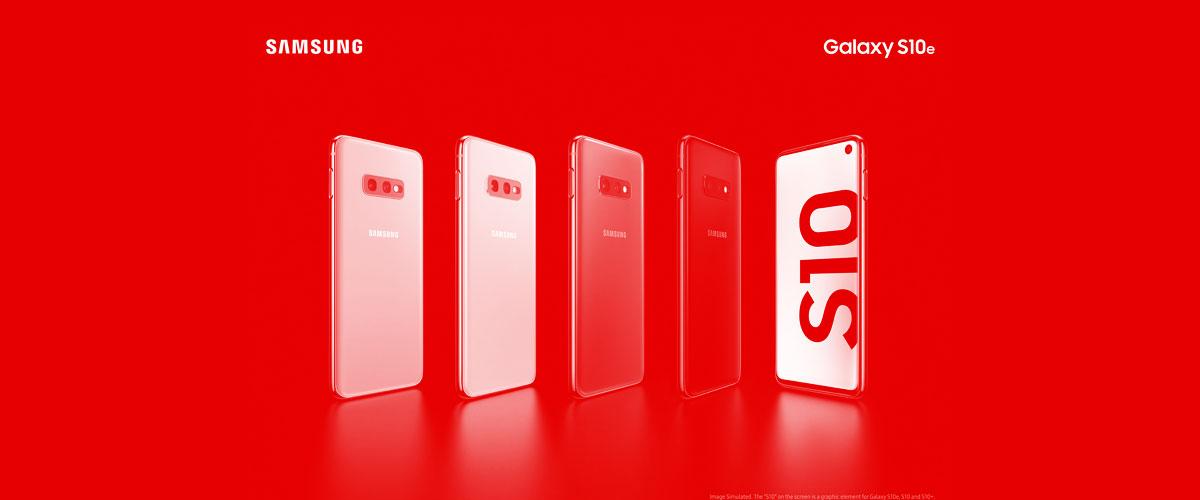 Samsung Galaxy S10E con Vodafone: disponibilidad y opciones